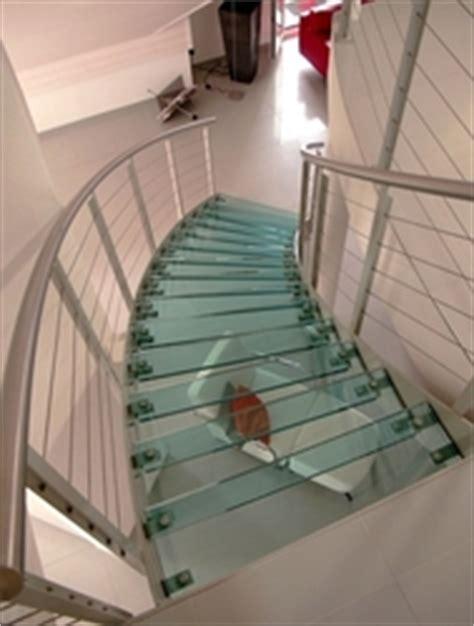 escalier en verre avantage et prix ooreka