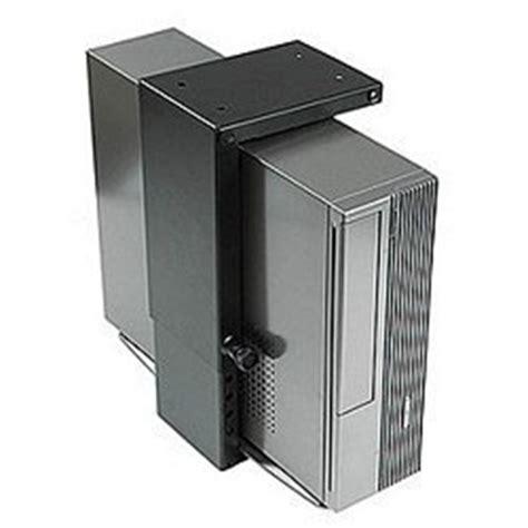 ziotek desk stationary mini cpu holder