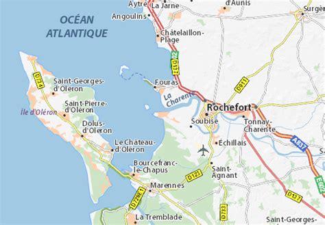 carte d 233 taill 233 e port des barques plan port des barques viamichelin