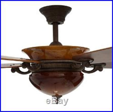 blown glass fixture 52 ceiling fan remote