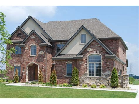 Exterior House Color Ideas With Brick — House Style And