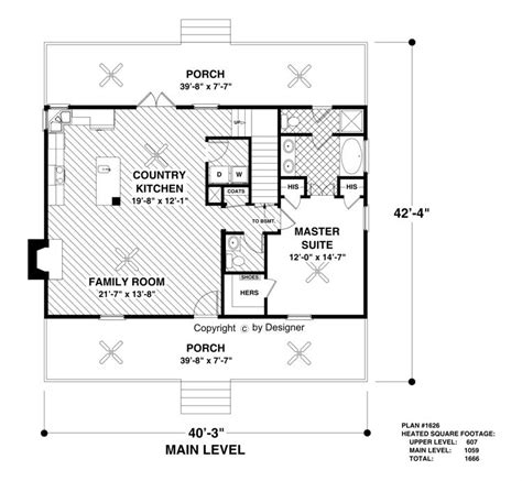15 must see cottage house plans pins small home plans the greystone cottage 3061 3 bedrooms and 2 baths the