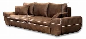 Big Sofa Vintage : big sofa schlafsofa bigsofa garnitur couch braun vintage look neu 22413 ebay ~ Markanthonyermac.com Haus und Dekorationen