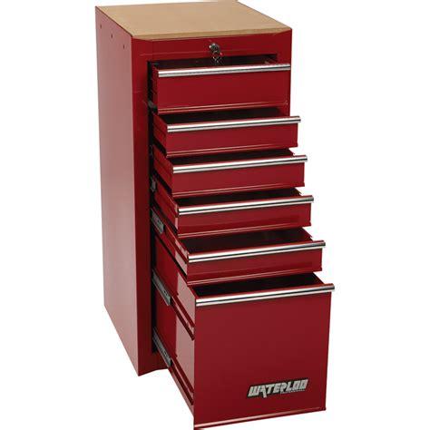 waterloo 6 drawer side hang on tool cabinet 16in w x