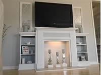 faux fireplace ideas DIY Faux Fireplace Mantel Ideas | Fireplace Designs