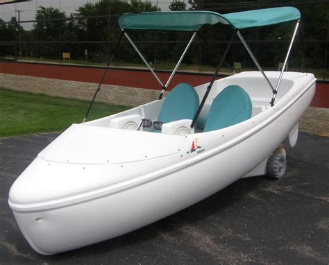 Pedal Boat Charlotte by Encore Pedal Boat Nauticraft Pedal Electric Boats