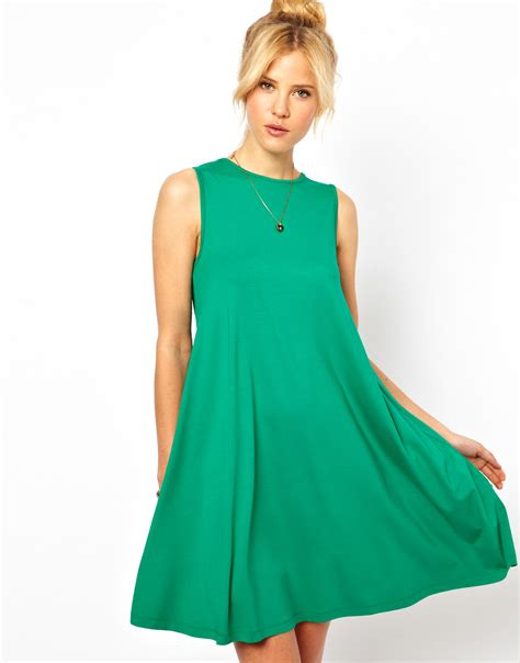 Sleeveless Dress by Pretties Closet Asos Sleeveless Swing Dress