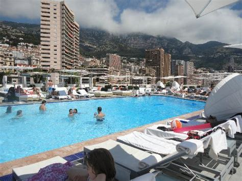 hotel roof top pool picture of fairmont monte carlo monte carlo tripadvisor