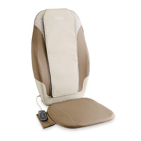 homedics dual shiatsu chair cushion