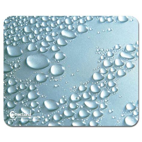 tapis de souris ultra fin design quot perles de pluie quot tapis de souris g 233 n 233 rique sur ldlc