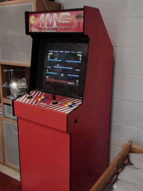 build an arcade cabinet for 200euro 250