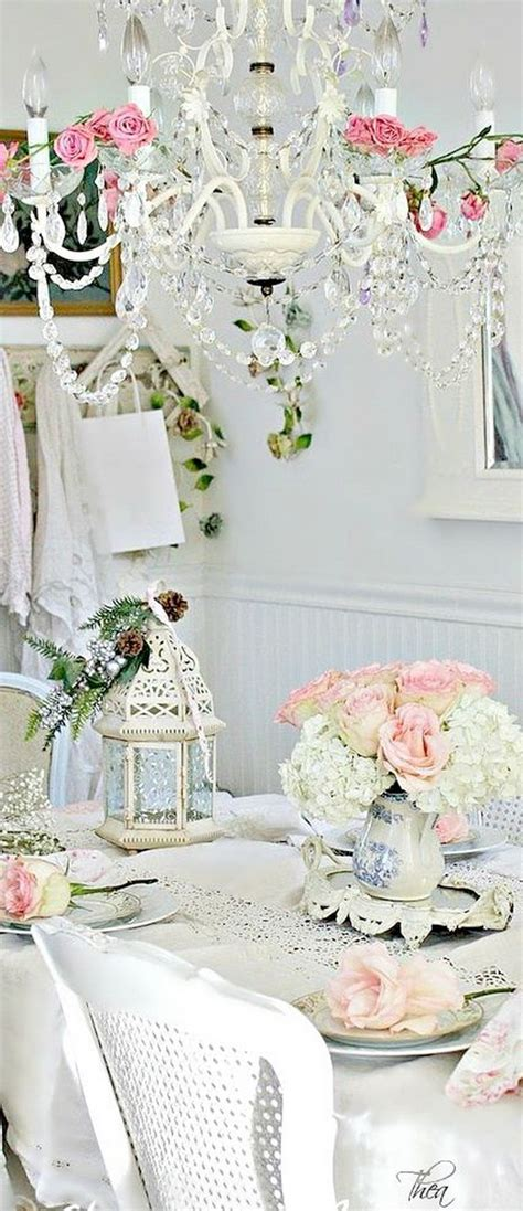 35 beautiful shabby chic dining room decoration ideas listing more