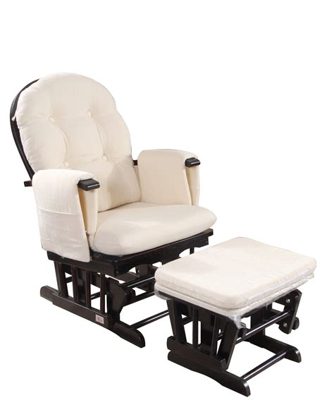 brand new baby glider chair rocking chair breast feeding chair w ottoman ebay