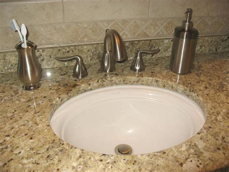 undermount bathroom sinks undermount sink with two faucets solution for small small