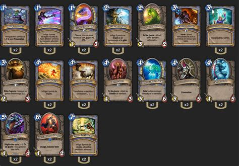 deck d 233 butant mage hearthstone hearthstone heroes of