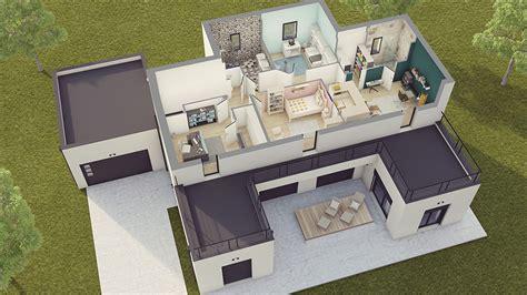 maison contemporaine loft 2 maison laure constructeur