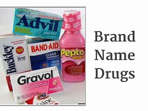 Generic Vs Brand Name Drugs – What's The Difference ...