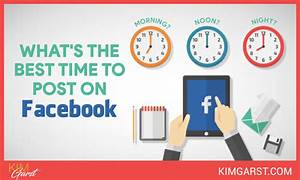 What's The Best Time To Post On Facebook? - Kim Garst ...