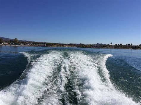 Wake Boat Landing by Wake From The Ferry Boat Picture Of Havasu Landing