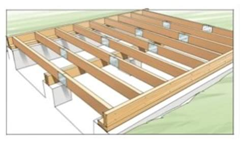 deck joists diy timber decking