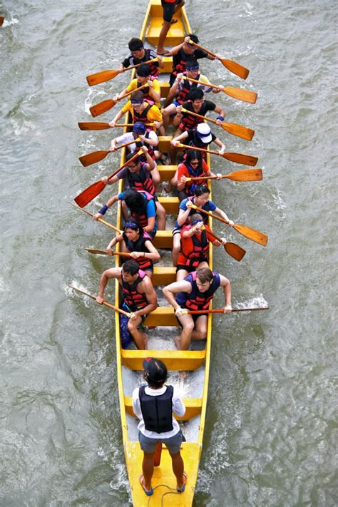Row The Dragon Boat by Row Row Row Your Dragon Boat Signed By Roxci