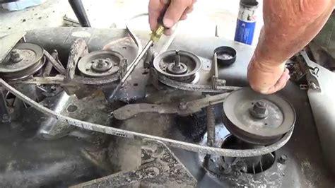 another craftsman lt1000 42 quot deck belt replacement change