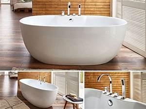 Badewanne Mit Armatur : badewannen welches material ist das richtige ~ Markanthonyermac.com Haus und Dekorationen