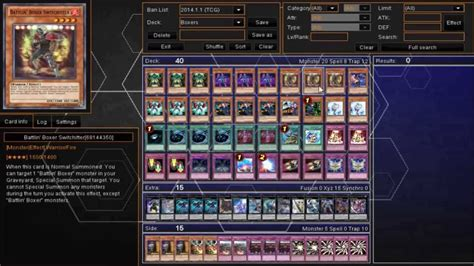 yugioh battlin boxer deck profile jan 1 2014
