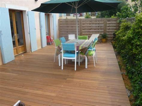 r 233 alisation de terrasse en bois exotique ip 233 sur cannes parquet et terrasse en bois aix en