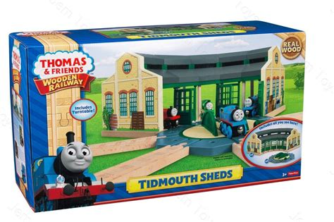 the tank engine tidmouth sheds turntable wooden