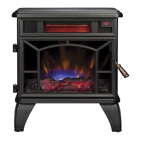 shop style selections 20 98 in w 5200 btu black metal