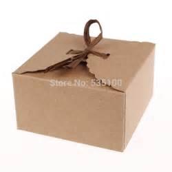 Retro Mini Kraft Paper Box,DIY Wedding Gift Favor Boxes ...