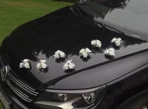le set de 4 mini bouquets ventouse pour voiture des mari 233 s d 233 coration voiture de mariage