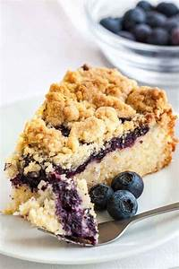 Blueberry Coffee Cake - i am baker