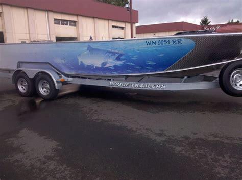Custom Fishing Boat Graphics by Coho Design Makes Boat Graphics And Custom Vinyl Boat Wraps