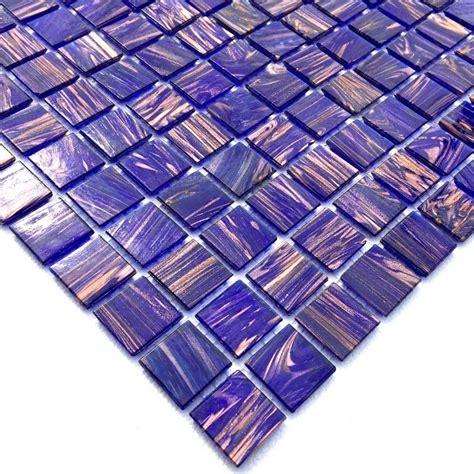 mosaique pate de verre pas cher 1m vitroviolet carrelage