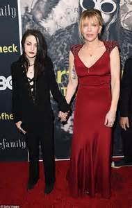 Kurt Cobain's daughter Frances Bean and Courtney Love at ...