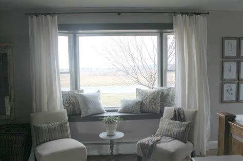 bay window treatment ideas living room astana apartments