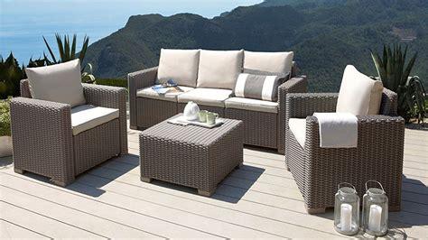 Gadget Des Tages 4teiliges Garten Lounge Set In Rattanoptik