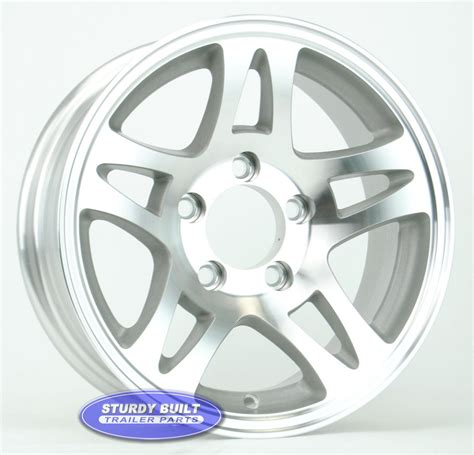 14 Boat Trailer Wheels by 14 Inch Trailer Wheels Aluminum And Steel Free Shipping
