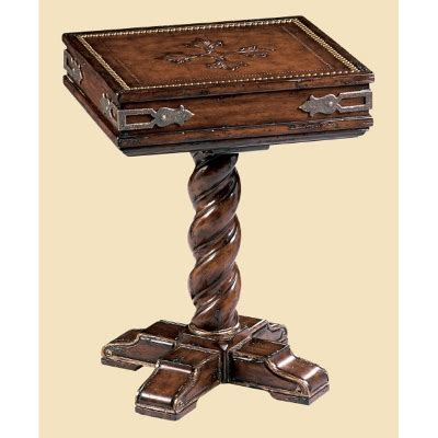 marge carson sg30 segovia chairside table discount furniture at hickory park furniture galleries