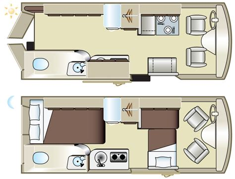 rv floor plans images interior of small rv royalty free