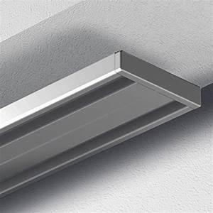 Gardinenschiene Alu 1 Läufig : garduna 120cm gardinenschiene vorhangschiene aluminium silber alu silber eloxierte oberfl che ~ Markanthonyermac.com Haus und Dekorationen