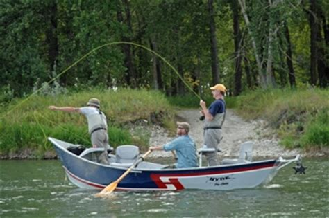 Inflatable Pontoon Boats Calgary by Calgary Fishing Guides Banff Fishing Guides In Alberta