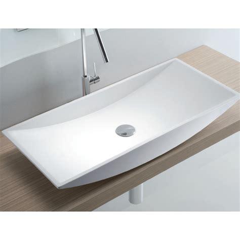 vasque a poser 100 cm max min