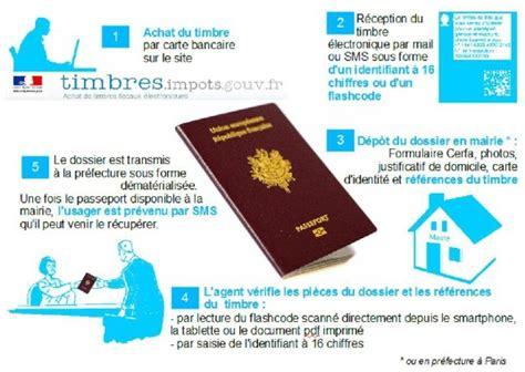 passeport timbre fiscal 201 lectronique jardres site officiel de la commune