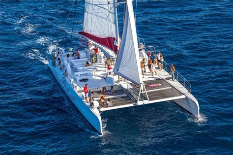 Catamaran Excursion Croatia by Excursion Summer Blues Catamaran Sailing