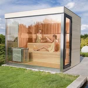 Sauna Im Garten : optirelax vip gartensauna deluxe optirelax ~ Markanthonyermac.com Haus und Dekorationen