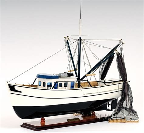 Fishing Boat Models For Sale by Gulf Shrimp Trawler Louisiana Work Boat Wooden Fishing