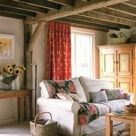 country living room ideas uk walls and exposed beams housetohome co uk